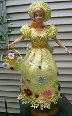 Вы вяжете на спицах или крючком.  Хотите заказать иллюстрированные схемы для вязания одежды для кукол.