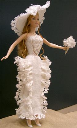 эта же статья продемонстрирует вам другие модели одежды для Барби, вязанные крючком.  Эта одежда для Куклы Барби...